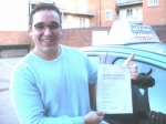 Franco passed with Francos Driving School