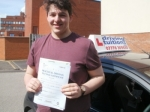 Harris passed with Francos Driving School