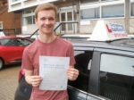 Harry passed with Francos Driving School