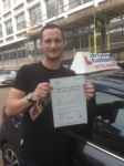 Ian passed with Francos Driving School