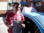Jake passed with Francos Driving School