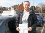 Jamie passed with Francos Driving School