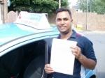 Jobi passed with Francos Driving School
