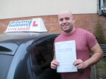 John passed with Francos Driving School