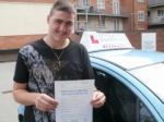 Jordan passed with Francos Driving School