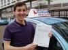 Josh passed with Francos Driving School