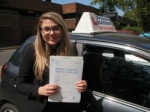 Josie passed with Francos Driving School