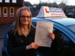 Karen passed with Francos Driving School