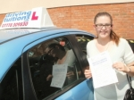 Karla passed with Francos Driving School
