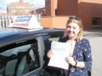 Katie passed with Franco's Driving School