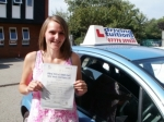 Kerry passed with Francos Driving School