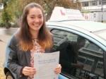 Lauren passed with Francos Driving School