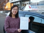 Ly passed with Francos Driving School