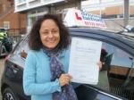 Margarita passed with Francos Driving School