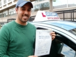 Marwan passed with Francos Driving School