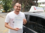 Matt passed with Francos Driving School