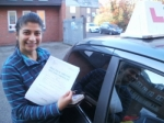 Meenal passed with Francos Driving School