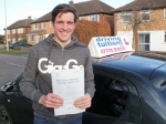 Michael passed with Francos Driving School