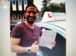 Mohamed passed with Francos Driving School