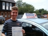 Joshua passed with Francos Driving School