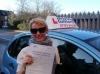 Roberta passed with Francos Driving School