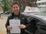 Sam passed with Francos Driving School