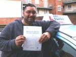 Saqlan Shah passed with Francos Driving School