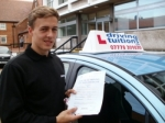 Stanley passed with Francos Driving School