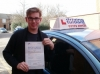 Timothy passed with Francos Driving School