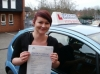 Vicki passed with Francos Driving School