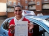 Vicky passed with Francos Driving School