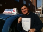 Victor passed with Francos Driving School