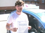 William passed with Francos Driving School