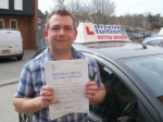 Zoli passed with Francos Driving School