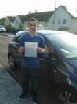 Aaron Mason passed with Freedom Driver Training