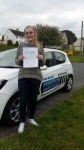 Bethany-Rose Turner passed with Freedom Driver Training