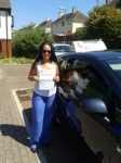 Emma Harris passed with Freedom Driver Training