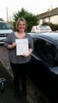 Hayley Taylor passed with Freedom Driver Training