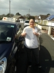 Holly Lamb passed with Freedom Driver Training
