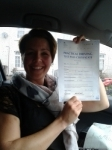Nicola Pierce passed with Freedom Driver Training