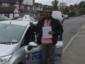 I passed my driving test on my first attempt and I am very thankful to Richard for this. My wife also took her licence under Richard´s instruction and she naturally recommended him to me and he has once again lived up to both our expectations. I would recommend him to anyone the same way we were recommended to him by others. He is patient and...