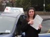 Aimee passed with Freedom School of Motoring