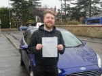 Alex passed with Freedom School of Motoring