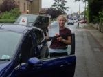 Amy passed with Freedom School of Motoring