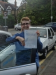 Annabel passed with Freedom School of Motoring