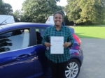Ayesha passed with Freedom School of Motoring