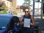 Bernadette passed with Freedom School of Motoring