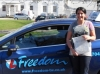 Chaima passed with Freedom School of Motoring