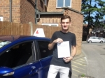 Luke passed with Freedom School of Motoring