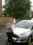 Ellie passed with Freedom School of Motoring
